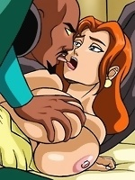 Justice league babes are busy getting their daily doze of cock